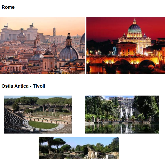 "ROME AND LAZIO TOURS - neorental.it ""car with driver"""